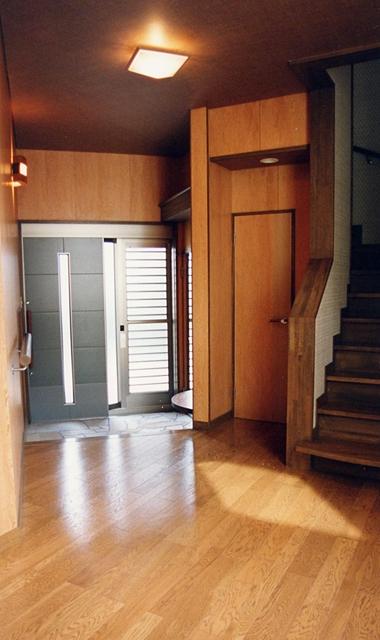 ホール 床暖房 シューズルーム