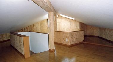 天井収納庫 屋根裏部屋