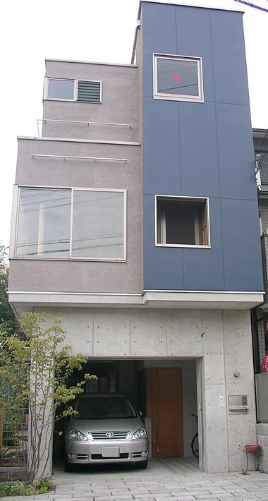 京都市 注文住宅 RC造 木造3階建