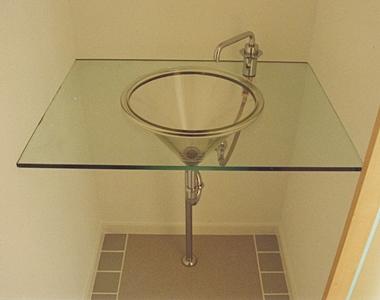 ガラス 手洗い器