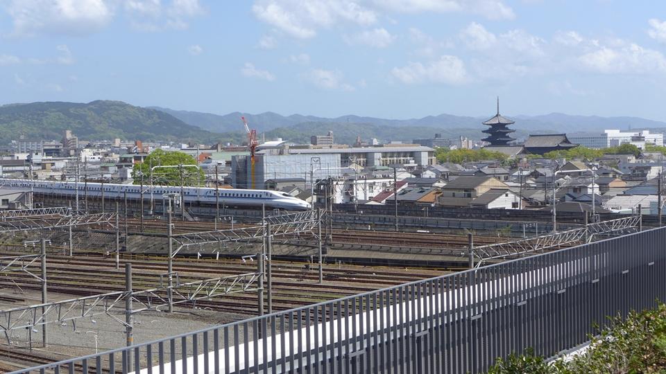京都鉄道博物館スカイテラス